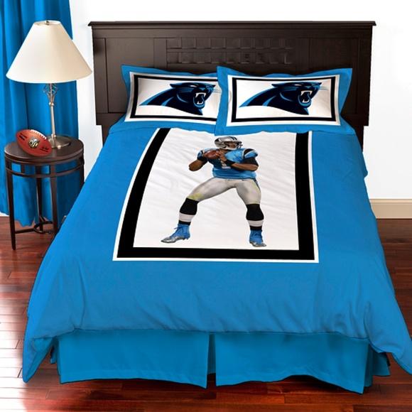 Carolina Panthers Cam Newton Bedding Comforter Set. Boutique ac1cd0d81
